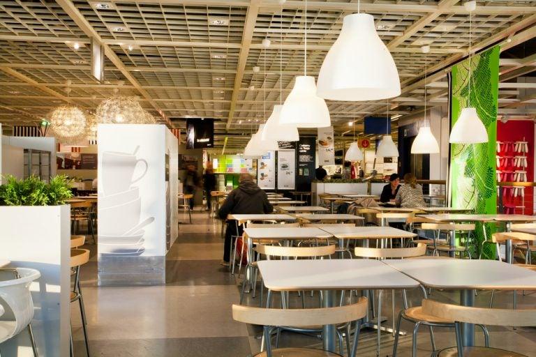 IKEA cafeteria.