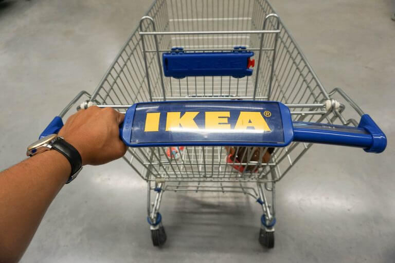 IKEA kundevogn.