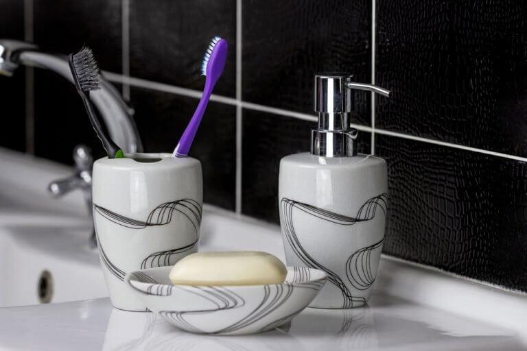 Badeværelsessæt til et smukt badeværelse