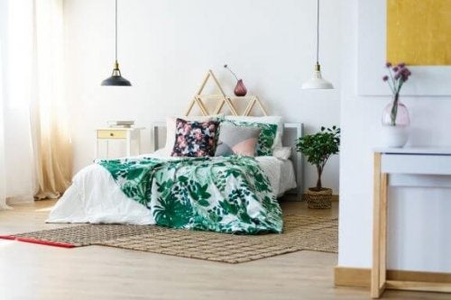 5 typer sengetøj med blomstermotiv