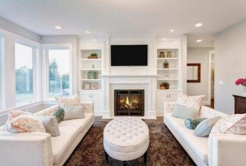 Tips til at indrette en hyggelig stue