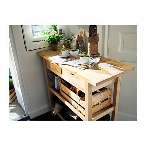 ikea køkkenbord på hjul