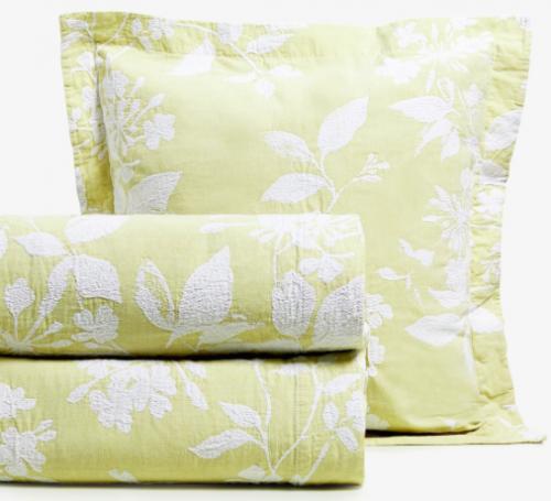 Blomstermønstret jacquard-sengetæppe fra Zara Home
