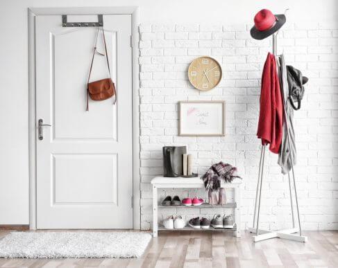 3 idéer til skohylder i din entré