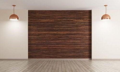 Find nye måder at bruge træ til vægge og gulve