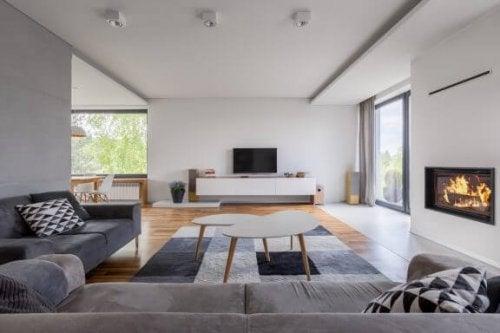 5 måder du kan indrette en L-formet stue