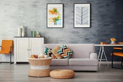 Vælg den rette farvekombination, når du indretter dit hjem