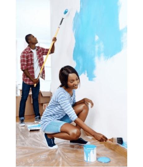 Sådan kan du male din lejlighed på 4 kreative måder