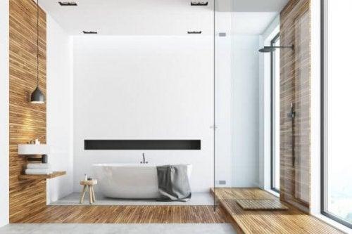 3 moderne badeværelsesdesign du skal kende til