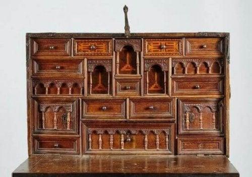 Bargueño skrivebordet: Historie og tradition