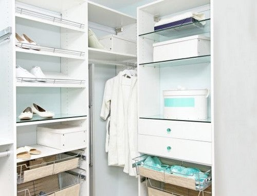 Den perfekte garderobe med ordentlig belysning