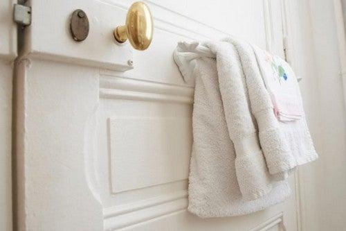 3 håndklædeholdere til badeværelset