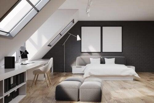 Tips til at indrette en studio-lejlighed