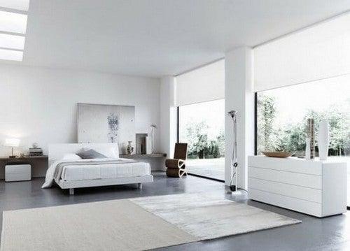 Soveværelse indrettet i italiensk stil