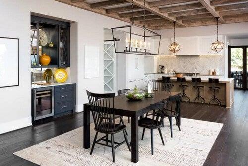 Skab den landlige stil i dit køkken