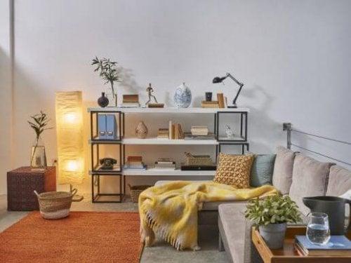 Indbydende og charmerende steder i dit hjem