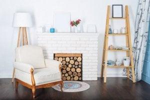 En falsk pejs kan give dit hjem en varm atmosfære