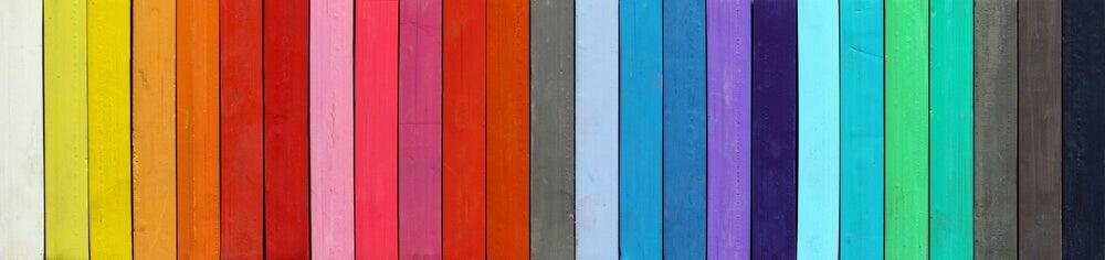 Farveskala viser komplimentære farver