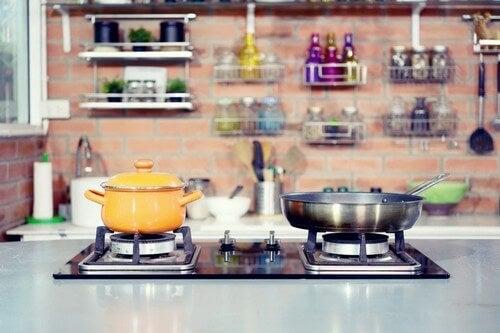 Alle fordelene ved et gaskomfur i køkkenet