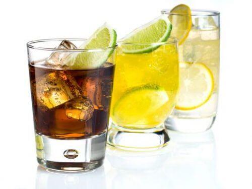 Vælg de rigtige typer af glas, der passer til drinken