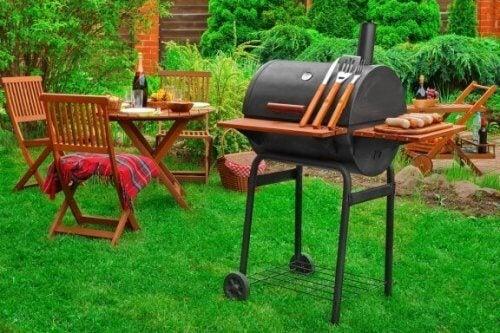 Lav dit eget grillområde i baghaven