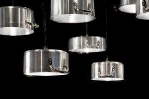 Du kan genanvende gamle gryder til at lave lampeskærme