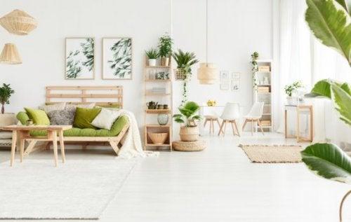 Dekoration af dit hjem: Naturlig indretning
