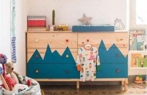 fin ide til dekoration med ikea møbler
