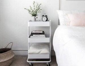 ikea møbler som natbord