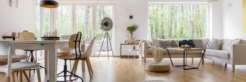 indretning af en stue