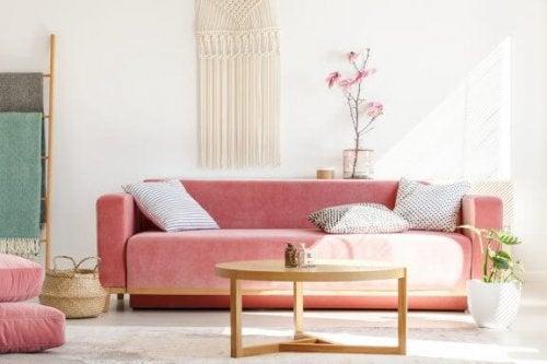 5 indretningstips med macramé vægophæng