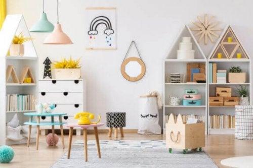 Den nordiske stil: Sådan dekorerer du et børneværelse