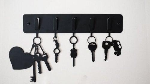 Organisering af dine nøgler: Opbevaring af dine nøgler