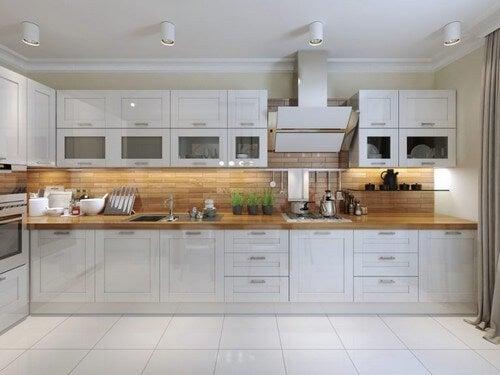 Hold dit køkken rent og ryddeligt