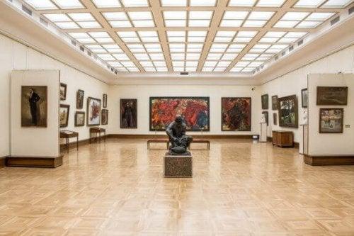 Sådan indretter du et galleri