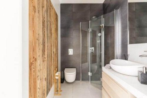 7 ideer til små badeværelser