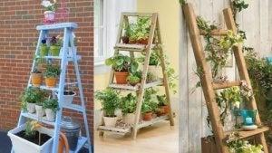 Du kan male din stigehylde i en farve der passer til dit hjem, eller med lak hvis du ønsker at bevare farven af træ