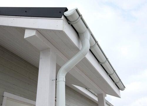 Tagrender hjælper til med at beskytte dit hjem mod regnvand