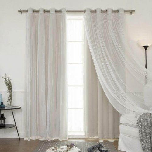 hvide gardiner