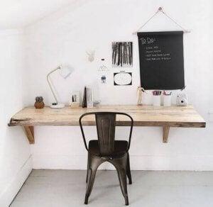 flot hængende bordplade