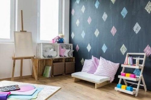6 gode tips til et organiseret børneværelse