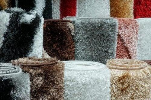 Langhårede tæpper til dit hjem om vinteren