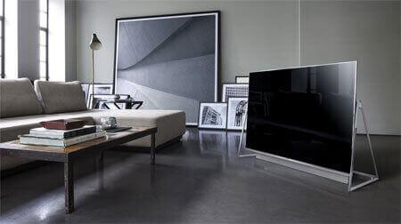 tv på gulv