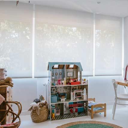 inspiration til rullegardiner i dit hjem
