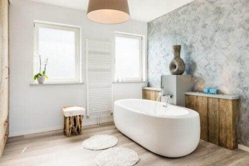 Trends i 2019 til indretningen af badeværelset