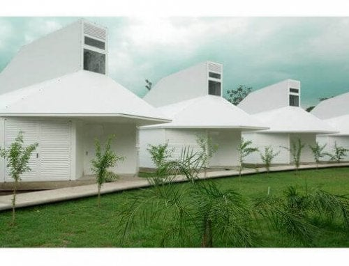 boliger fremstillet af fibercementpaneler