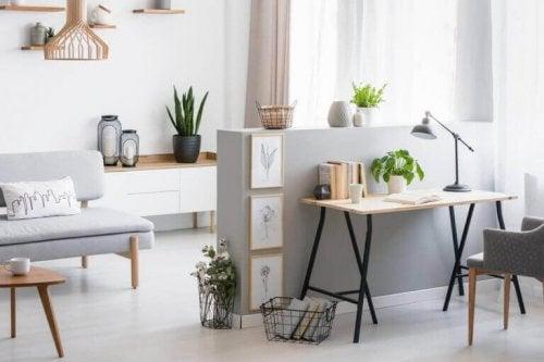 stue med grå møbler