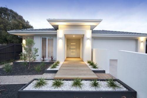 Udenomsarealer til et moderne hjem