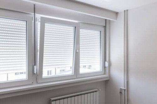 vinduer med metal persienner til nyt vinduedesign