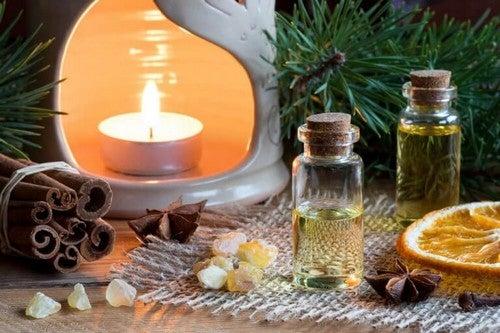 Æteriske olier kan hjælpe med at rense luften